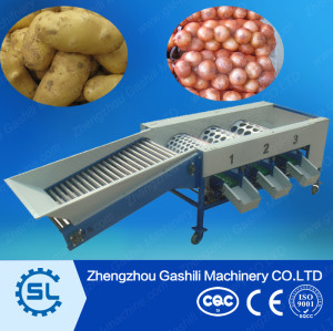 stable performance potato sorting/grading machine