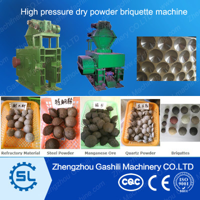 Hydraulic briquette press machine coal briquettes machine for sale