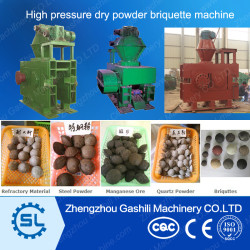 Multi functional High Pressure Mineral Dry Powder Briquettes Machine