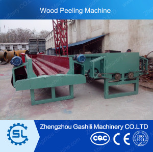hot selling double rotor wood peeling machine