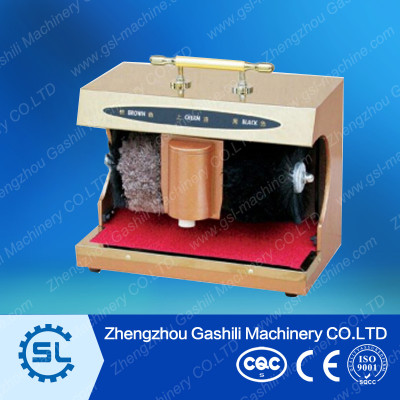 Household type shoe cleaning machine
