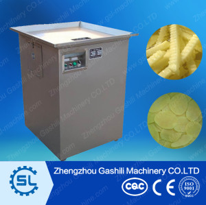 high efficient stainless steel potato chips cutting machine