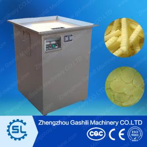 high efficient stainless steel potato chips cutting machine