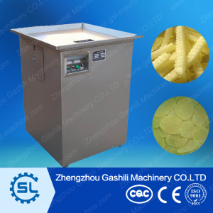 stable performance potato slicing machine