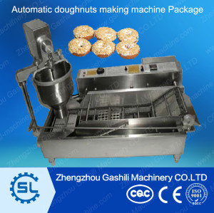 Automatic stainless steel doughnut making machine