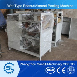 high efficient stable performance wet peanut peeling machine