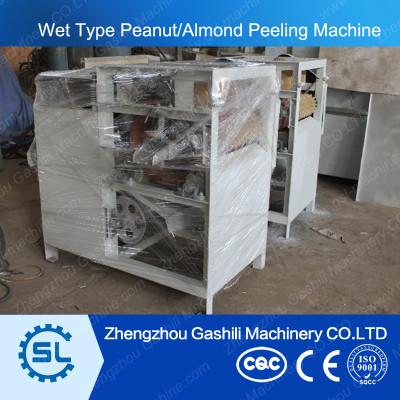 high efficient stable performance wet peanut peeling machine