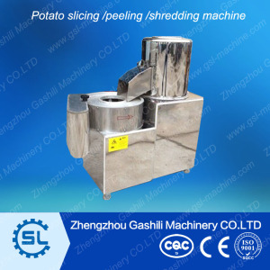 Popular vegetable slicing and peeling machine with best price