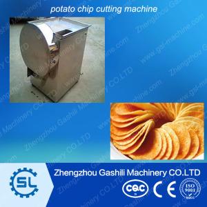 Good quality potato slicer/potato chip cutting machine for sale