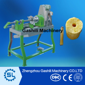 pineapple peeling machine and pineapple coring machine