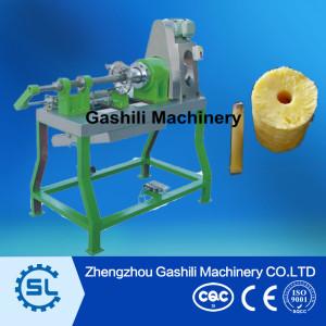 pineapple peeling machine and pineapple coring machine