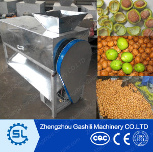 2015 Green walnut skin removing machine