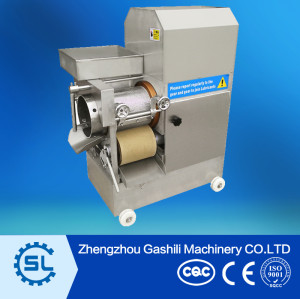 Full-automatic fish processing machine fish meat and bone separator machine