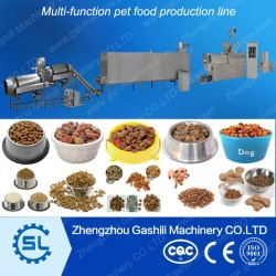 Chinese price good performance multi-function pet food processing line