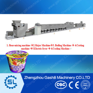 11000pcs per shift fried instant noodle production line