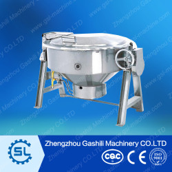 High capacity 200L  stainless steel steam cookware supplier