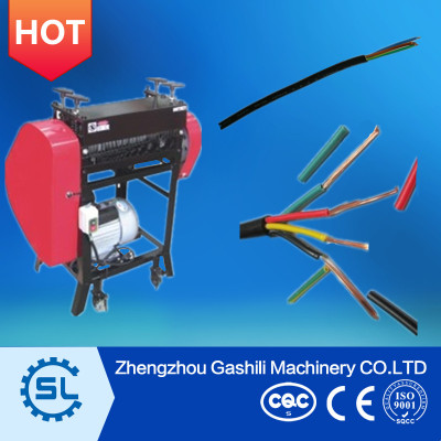 Dual-channel six knife Wire Stripping Machine