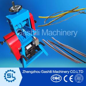 Dia.1.5-38mm Single scrap copper wire stripping machine
