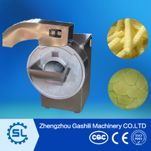 stainless steel french fries slicing machine