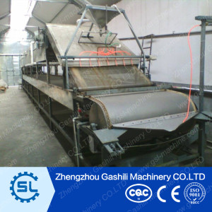 Full automatic dry soybean skin production line
