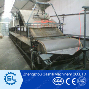 Stainless steel material dry soybean skin machine