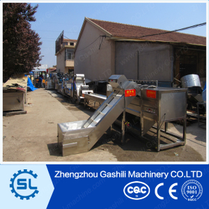 stainless steel french fries processing machine