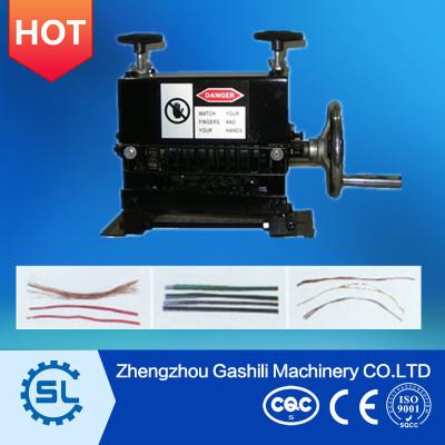 Manual wire stripping machine