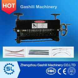 Manual cable stripping machine