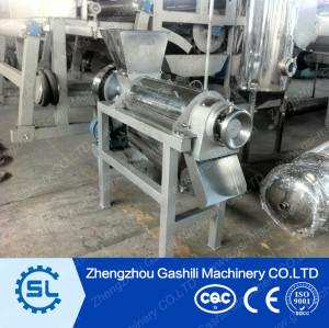 Industrial stainless steel juice extractor machine