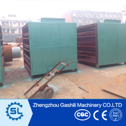 High efficiency coal ball briquettes mesh belt dryer machine