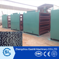 Continuous Multilayer coal ball Mesh Belt Dryer with Reasonable Price