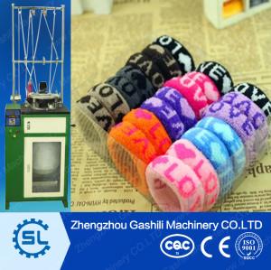 Beautiful elastic Hair bands making machine