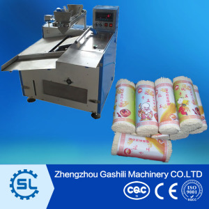 Semi-automatic stick noodle paper packing machine