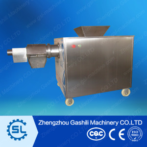 Poultry meat and bone separator machine