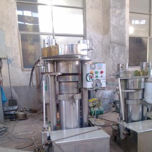 hydraulic peanut oil press machine