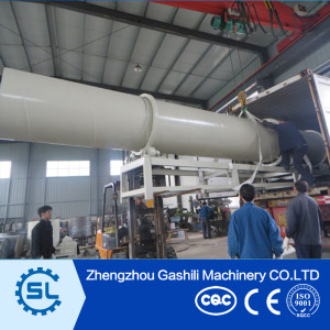 Widely used rotary dryer wood chips dryer wood sawdust dryer