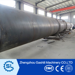High Capacity sawdust rotary dryer wood shavings rotary dryer