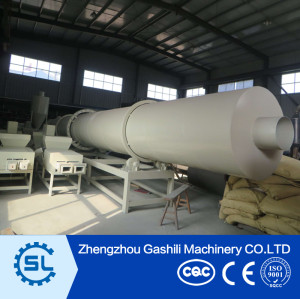 High performance rotary drum wood sawdust dryer