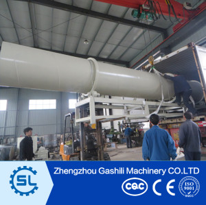 Industrial Wood Sawdust Dryer Biomass Rotary Dryer