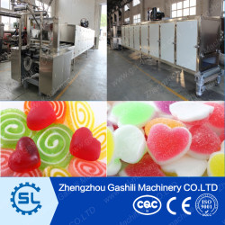 Different capacity Jelly candy starch moulding line