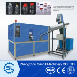 5L Automatic strech Drinks bottle blowing machine for sale