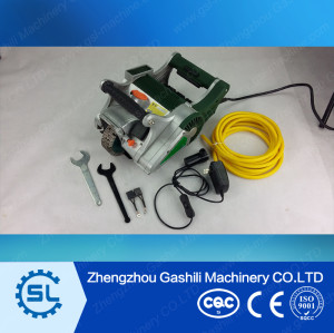 Wall chaser machine for cutting concrete walls