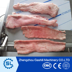 High efficiency pork skin peeling machine