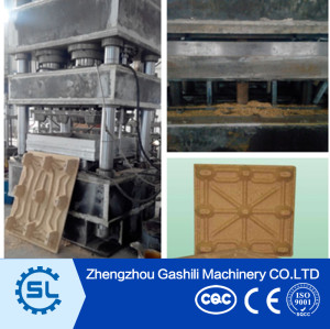 High Efficiency Sawdust Wood Pallet Pressing Machine