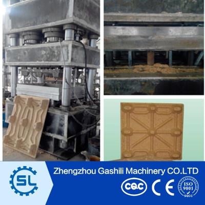 High Efficiency Sawdust Wood Pallet Pressing Machine