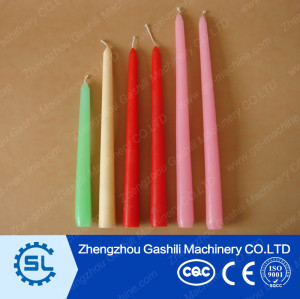 2016 Favorable manual taper candle making machine price
