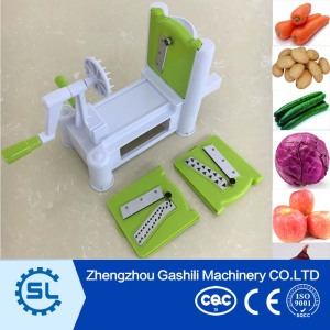 Hot selling tri-blade vegetable spiral slicer