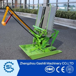 Well-adapted manual rice transplanter