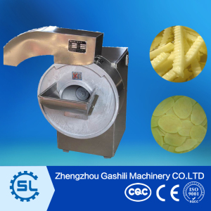 100-800kg/h stainless steel potato chips cutting machine