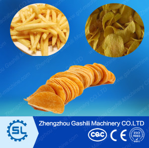 stainless steel potato chips processing machine
